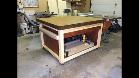 Diy-Sdjustable-Outfeed-Table