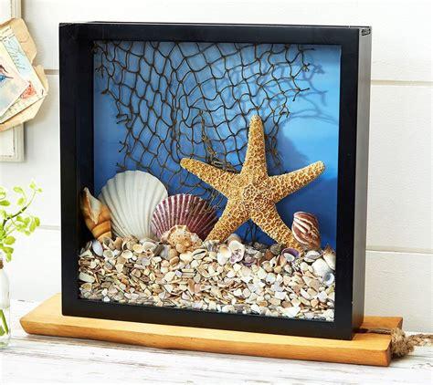 Diy-Sea-Shell-And-Sea-Glass-Shadow-Box