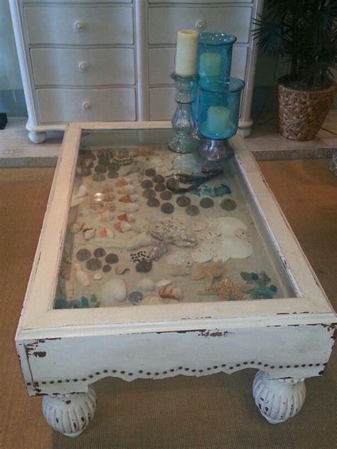 Diy-Seashell-Coffee-Table