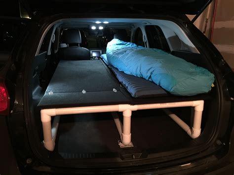 Diy-Sedan-Car-Camping-Frame-Bed