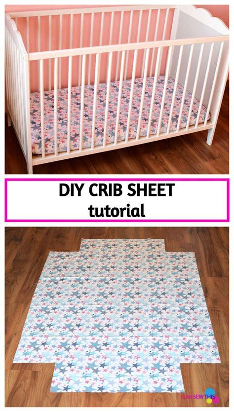 Diy-Sew-Crib-Sheet