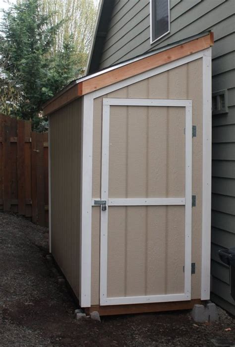 Diy-Shed-Against-House