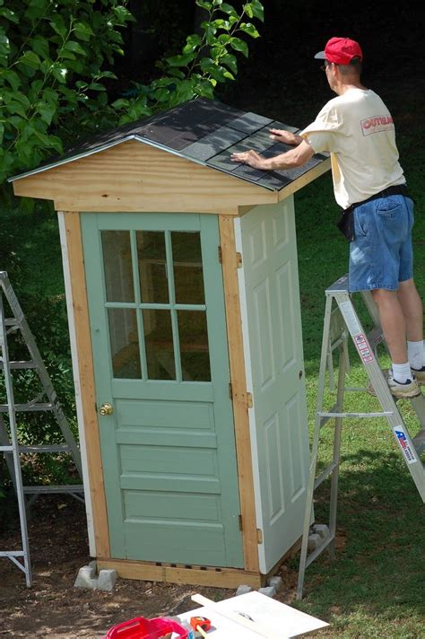 Diy-Shed-Made-From-Doors