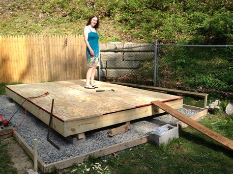 Diy-Shed-On-Skids