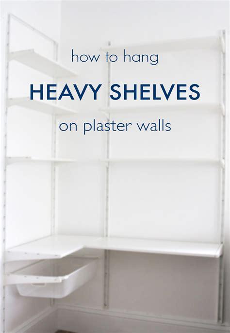 Diy-Shelf-Hanging-On-Plaster-Walls