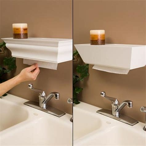 Diy-Shelf-Paper-Towel-Dispenser