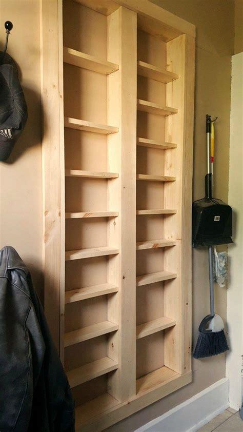 Diy-Shelves-Between-Wall-Studs