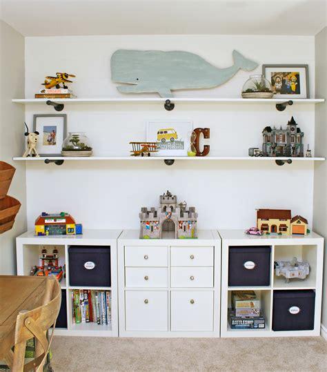 Diy-Shelves-For-Kids-Room