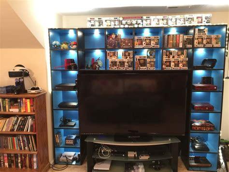 Diy-Shelves-In-Game-Room