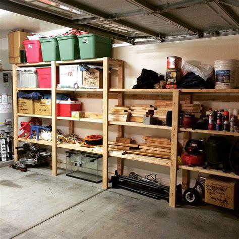 Diy-Shelving-For-Garage-Storage