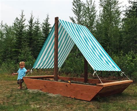 Diy-Ship-Sandbox-Plans