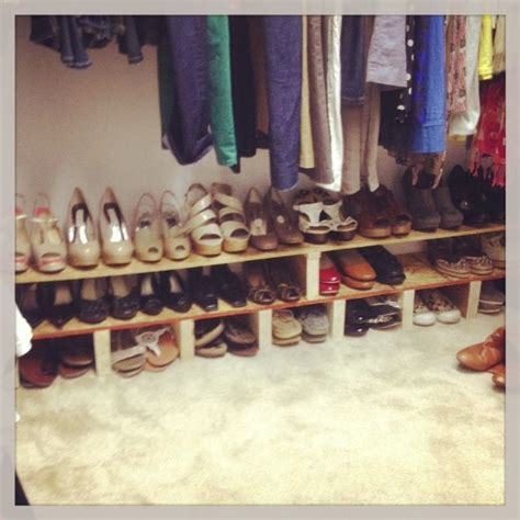 Diy-Shoe-Rack-For-Closet-Floor