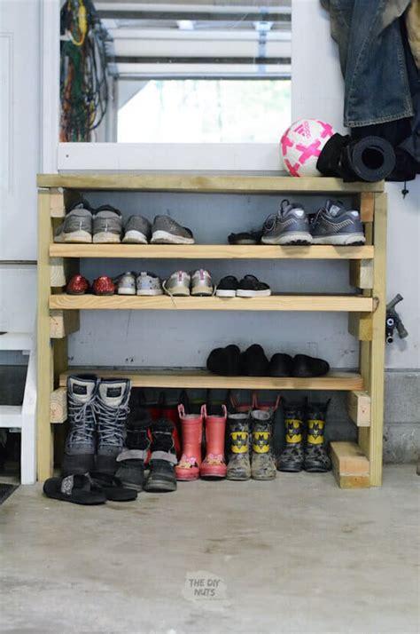 Diy-Shoe-Rack-In-Garage