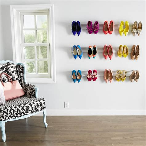 Diy-Shoe-Rack-On-The-Wall