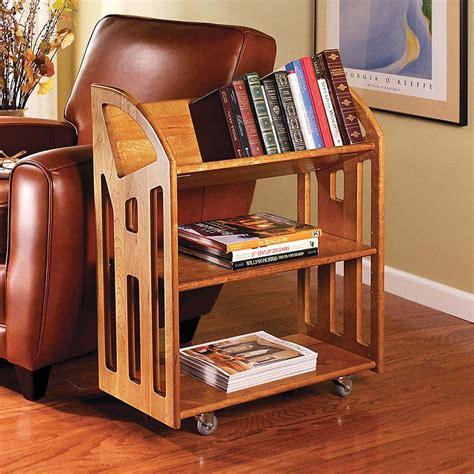 Diy-Short-Bookshelf-With-Wheels