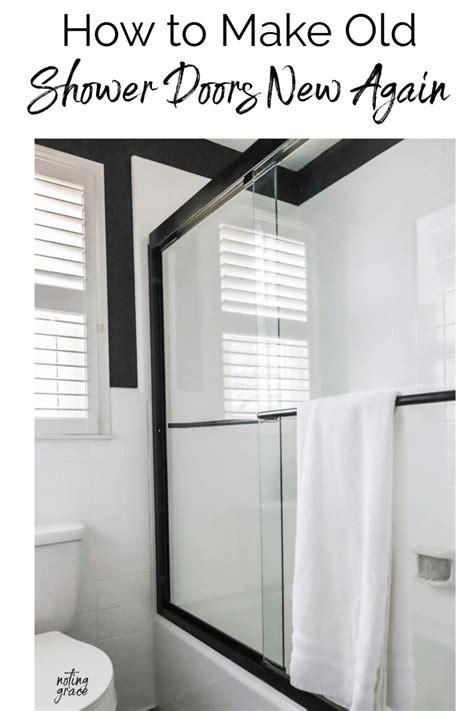 Diy-Shower-Door-From-Gym-Mirror