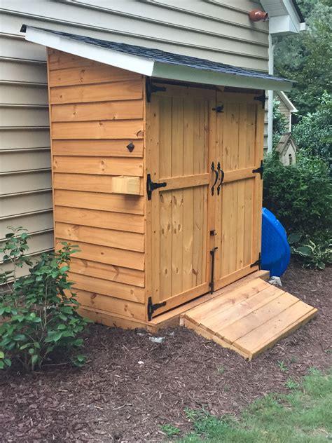 Diy-Side-Storage-Shed