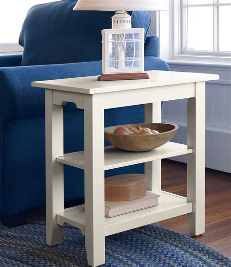 Diy-Side-Table-With-Shelf
