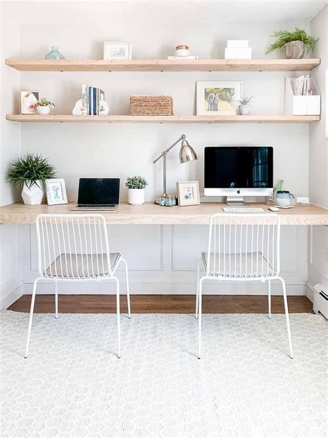 Diy-Simple-Floating-Shelf-Desk