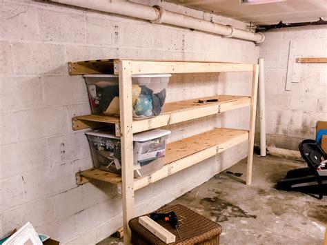 Diy-Simple-Garage-Shelves