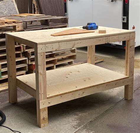 Diy-Simple-Garage-Workbench