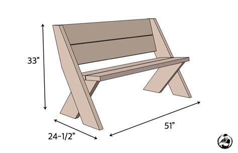 Diy-Simple-Outdoor-Bench-Plans