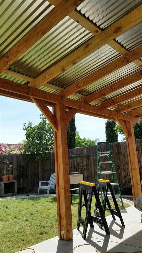 Diy-Simple-Patio-Roof