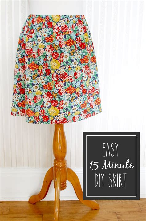 Diy-Simple-Skirt