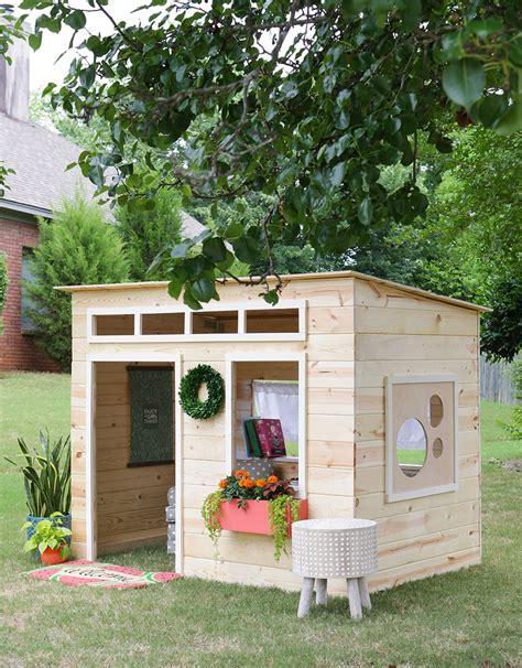 Diy-Simple-Wood-Playhouse-Video