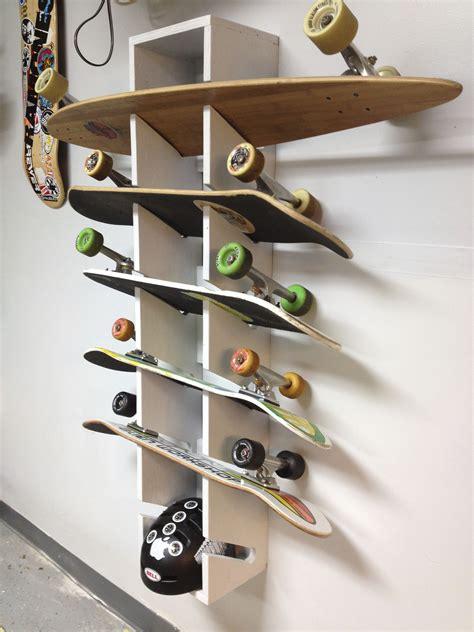 Diy-Skateboard-Floor-Rack