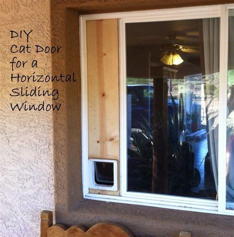 Diy-Sliding-Window-Cat-Door