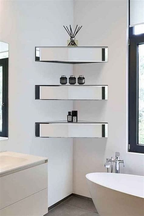 Diy-Small-Bathroom-Corner-Shelf-Designs