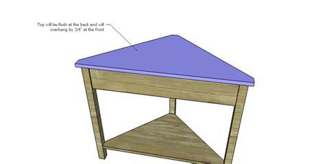 Diy-Small-Corner-Table-Plans