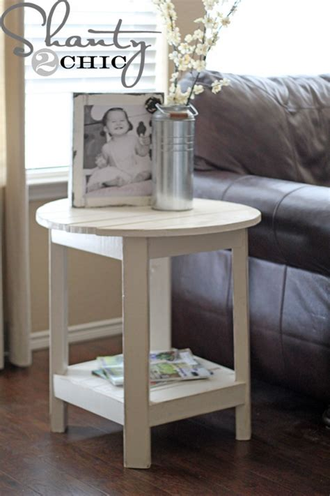 Diy-Small-Round-Side-Table