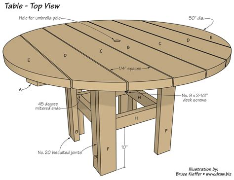 Diy-Small-Round-Table-Plans