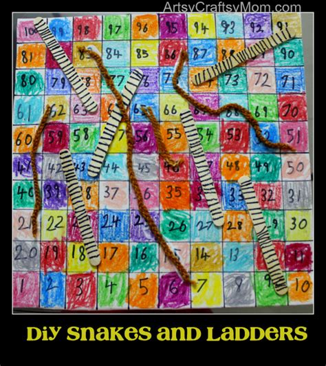 Diy-Snakes-And-Ladders
