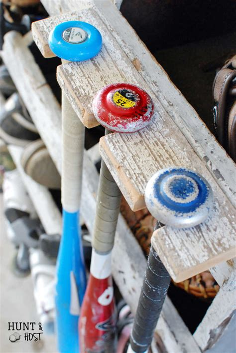 Diy-Softball-Bat-Rack