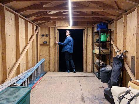 Diy-Solar-Shed-Lights