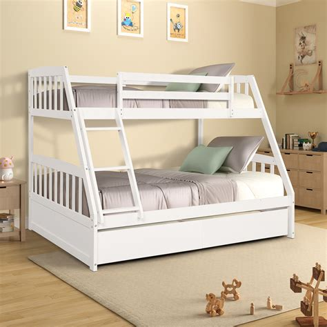 Diy-Solid-Wood-Twin-On-Twin-Detachable-Bunk-Bed