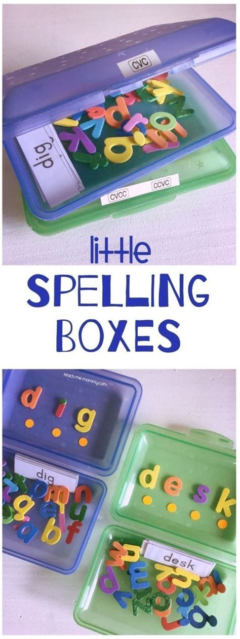 Diy-Spelling-Box-For-Sight-Words
