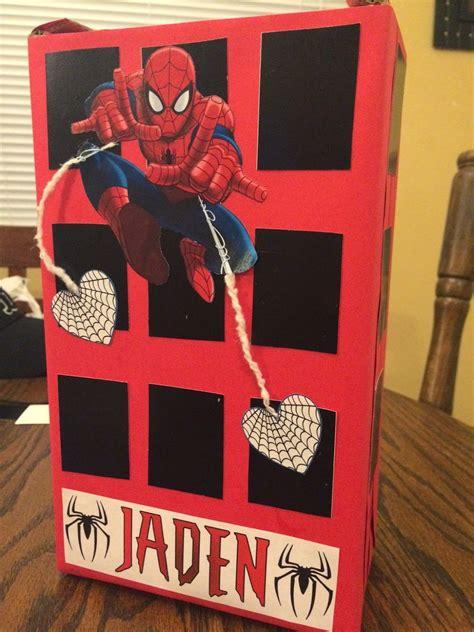 Diy-Spiderman-Valentine-Box