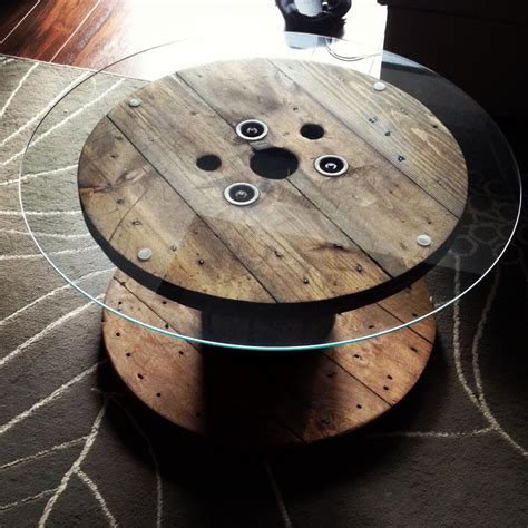 Diy-Spool-Table-Glass-Top