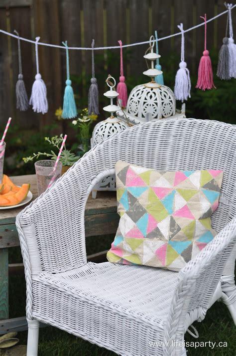 Diy-Spray-Paint-Wicker-Chair