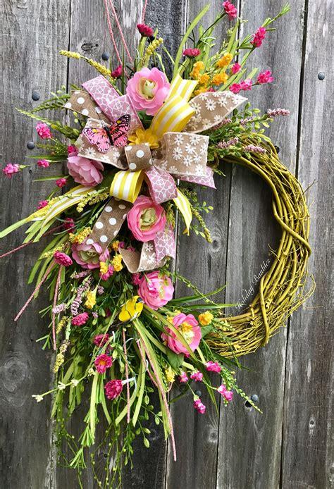 Diy-Spring-Grapevine-Wreath