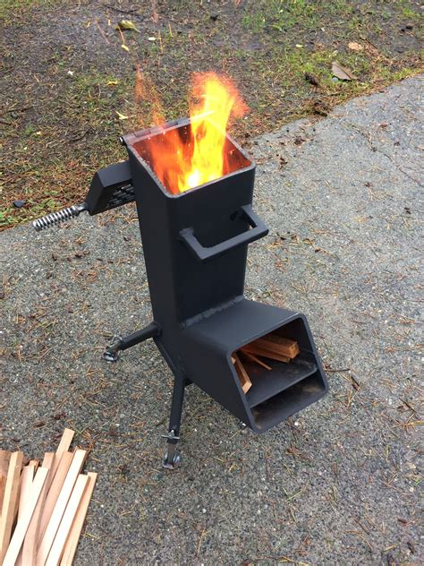 Diy-Square-Wood-Stove