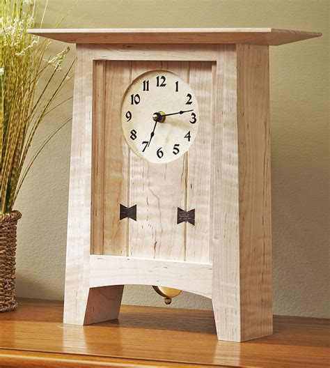 Diy-Square-Wooden-Clock-Plans