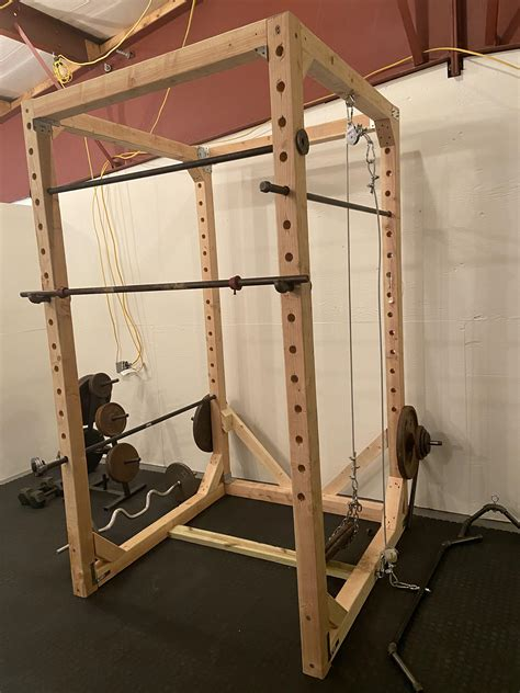 Diy-Squat-Rack-Cable