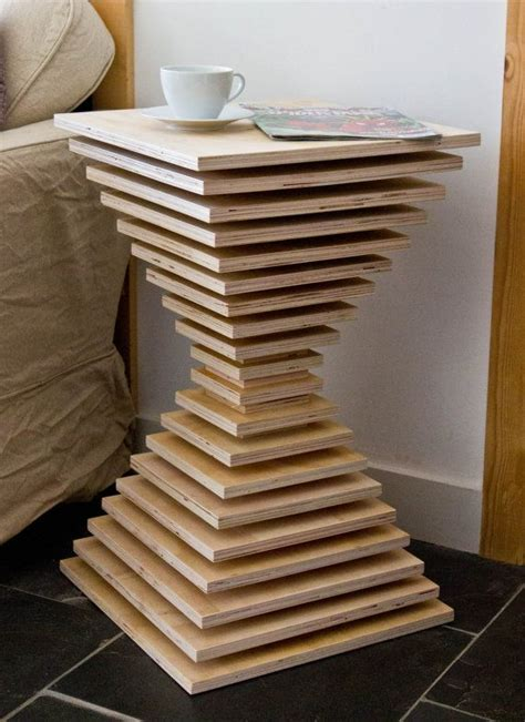Diy-Stacked-Plywood-Table