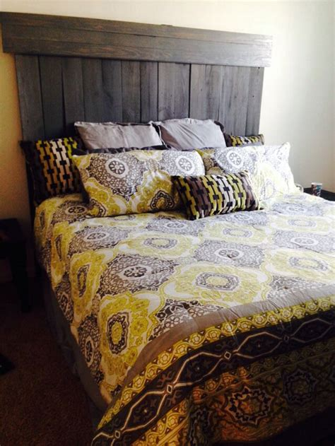 Diy-Stain-Grey-Headboard