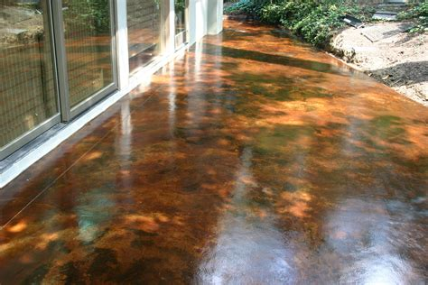Diy-Stained-Concrete-Patio